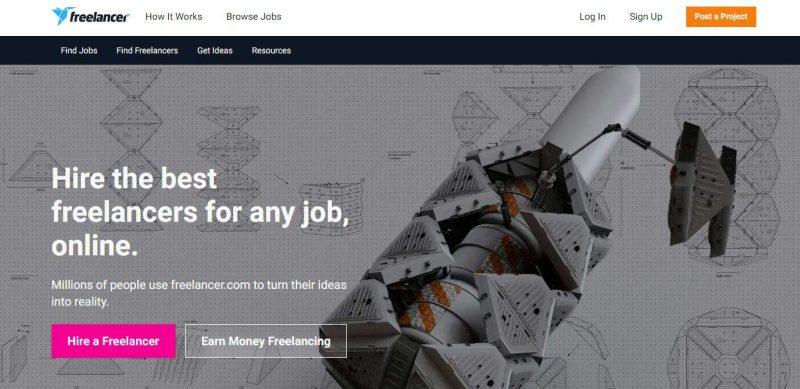 freelancer - best freelancing sites in india