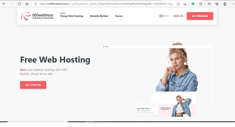 free web hosting sites